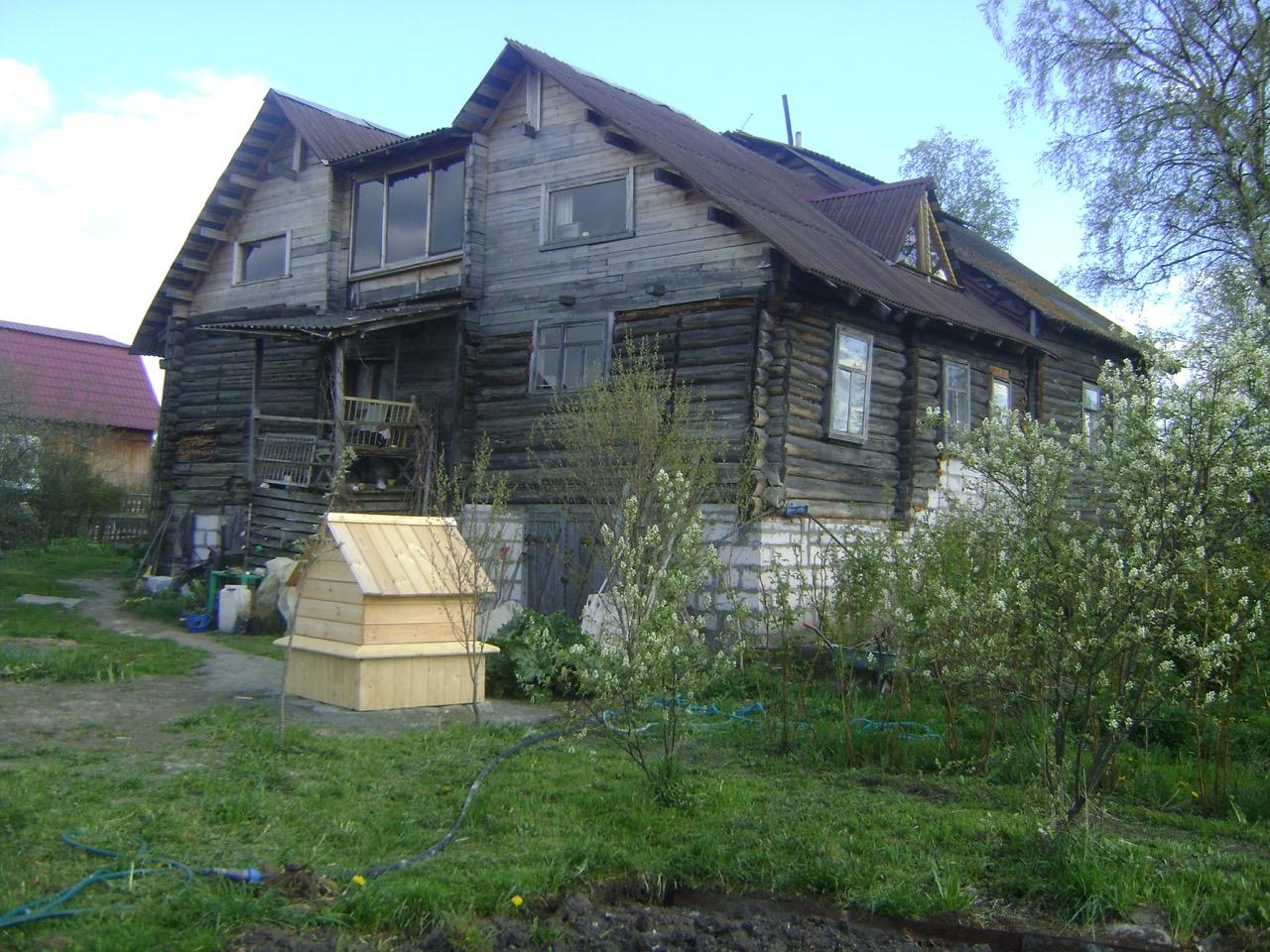 Музей Золотой ручей в Карелии, колодец