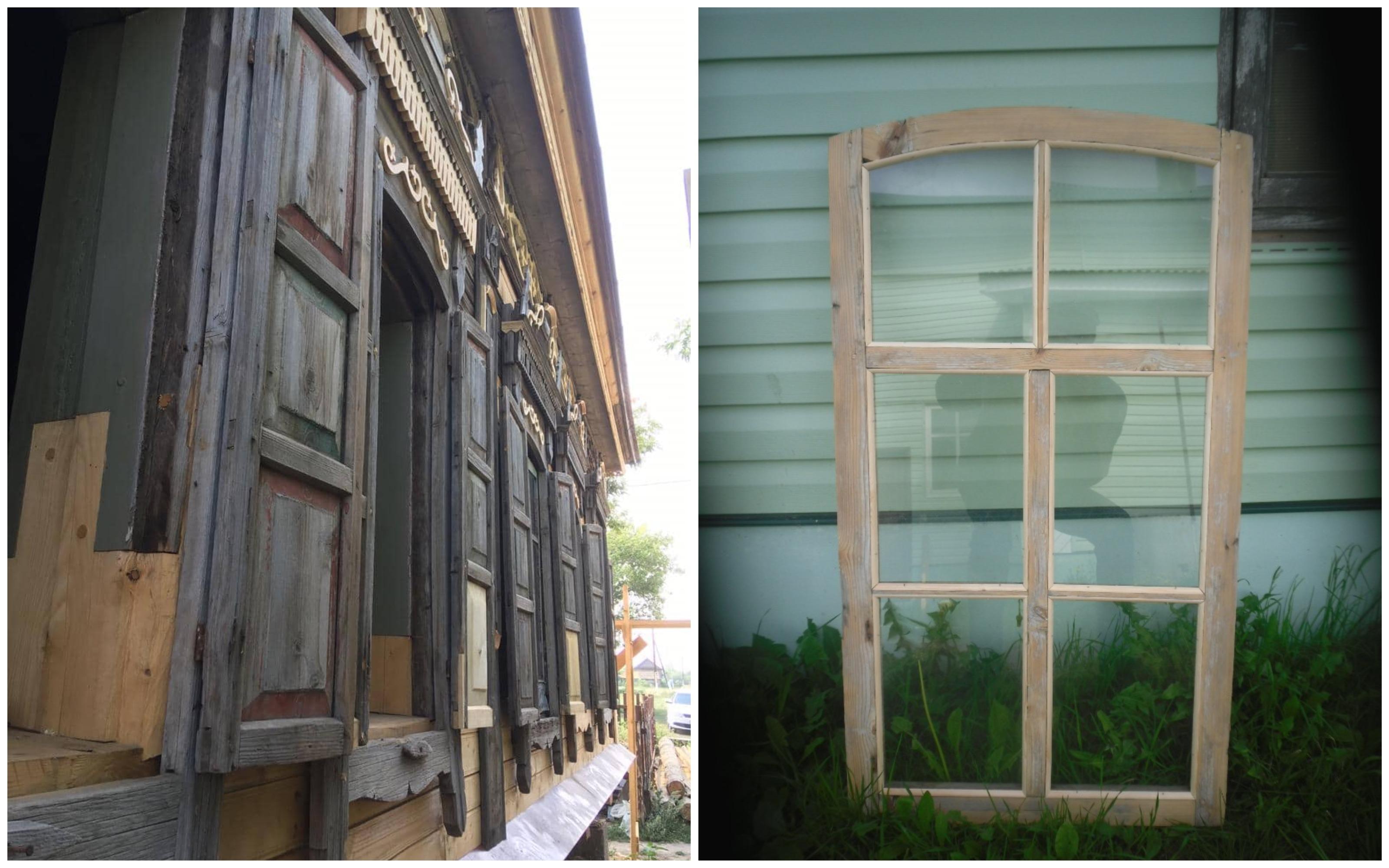 дом со львом реставрация окон