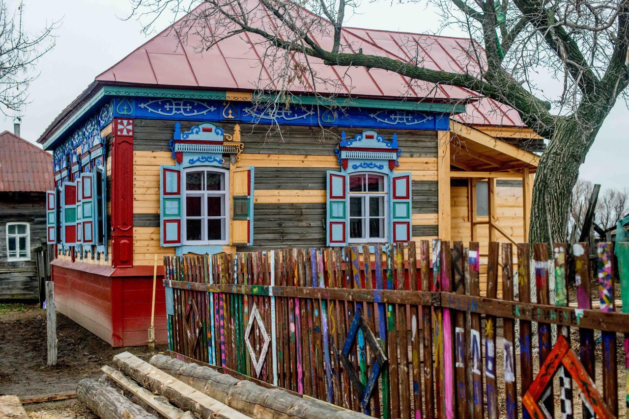 дом со львом после реставрации