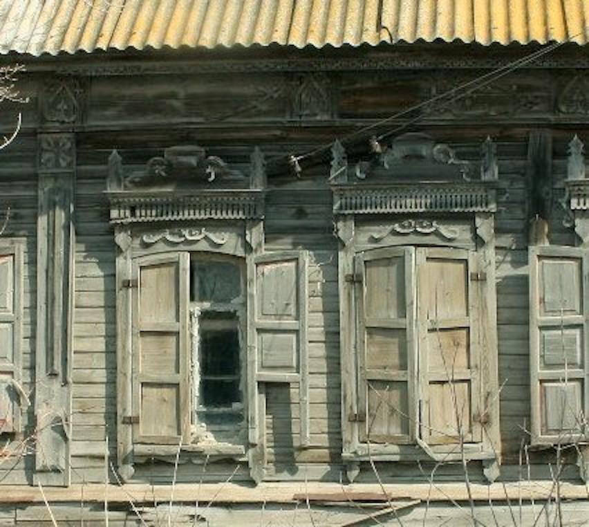 дом со львом окна до реставрации